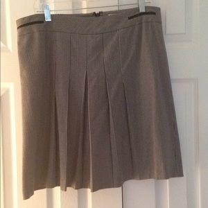 Wool herringbone skirt size 14